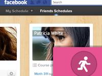Facebook Class Scheduler