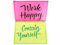 Work Happy, Contain Yourself