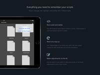 Teleprompter app website