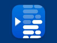 Teleprompter 3.0 iOS Icon