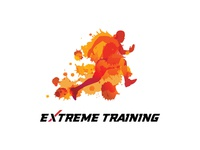 Watercolor Fitness and Sport Logo