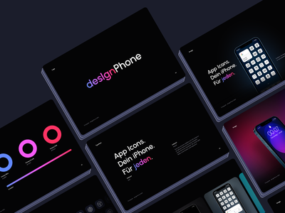 desIgnPhone Branding app icons iphone typography branding brand styleframe logo styles design system ui components library color palette guidelines style guide style styleguides styleguide visual language