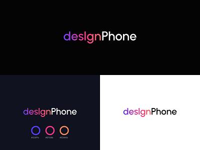desIgnPhone logo / App Icon Shop color shop app icon logo design vector brand branding design ui ux branding styleguide logo brandbook mark guideline brandbook