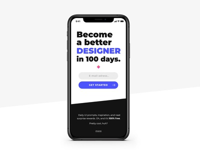 Daily Ui #001 / Sign Up
