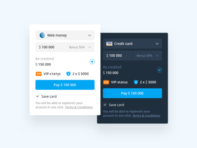 Payment Tooltip