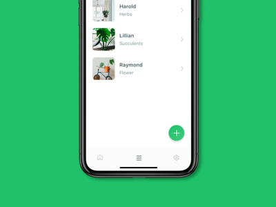Case Study: Solving a Design Challenge ai timeline sustainability camera google design icons card minimal list white plant challenge app screen ios app