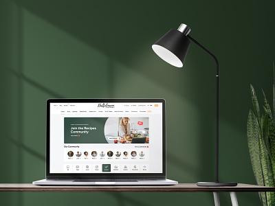 Fine food store - Website for Dattelmann layout nuts article blog shop store food design web design ux interface ui