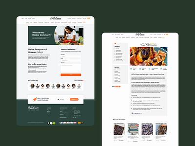 Fine food store - Website for Dattelmann animation nuts store ecommerce shop healthy food website clean design web design ux interface ui