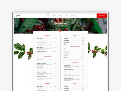 Menu Fika - Cafe & Coffeehouse HTML Template