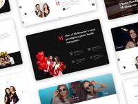 Pages layout - Lavish Photobooths