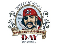 Talk Like a Pirate Day Illustration & Design