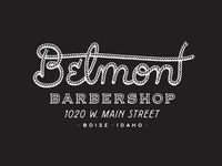 Belmont Barbershop T-Shirt Design