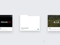 Folder Hover effect