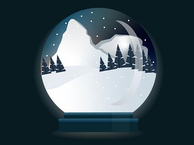 Snowball illustrations snow winter
