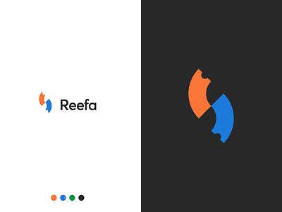Reefa Shop coupon code coupons coupon reef raffle store shop blue orange circle brand logo ticket brand design branding and identity branding