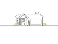 House outline illustration