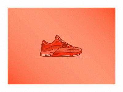 Nike KD 7 Sneaker swoosh kd illustration icon shoe sneaker basketball nba kevin durant nike