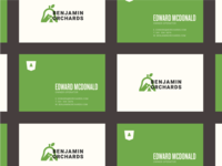 Benjamin Orchards Business Cards