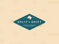 Split Shift Coffee Company Branding