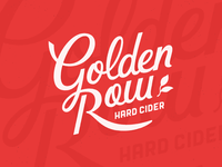 Golden Row Cider Logo