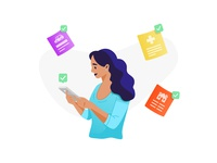 Simple Payment Illustrations