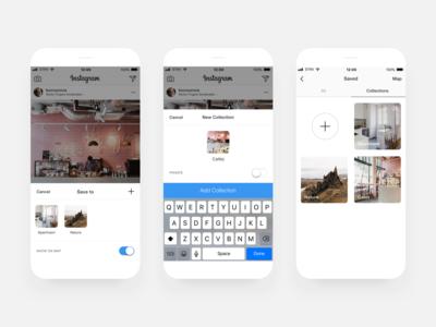 Instagram Spots – Public Collections [Concept]