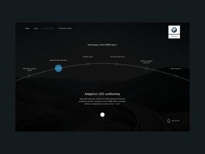 BMW 5 Series Microsite – Technologies