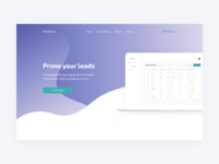 Primer Landing Page – Preview