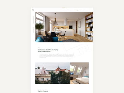 B2 Landing Page house interior photos ui real estate agency campaign interior design apartment accomodation landing page development company real estate