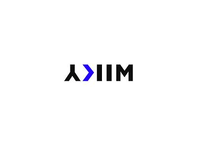 YKIM — Logo typography vector identity design production cinematography video motion videoproduction brand identity logodesign logotype logo branding