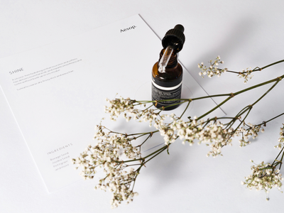 BYSSINE x GBM — Case Study typography product print design print photography lifestyle graphic design design case study behance beauty product aesop