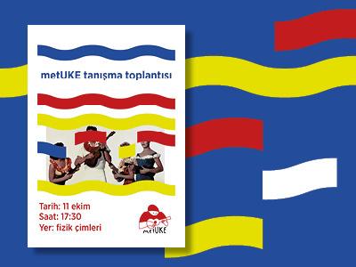 metUke poster 2 music wave metuke poster logo uke