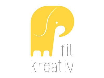Fil Kreativ fil elephant logo logo design