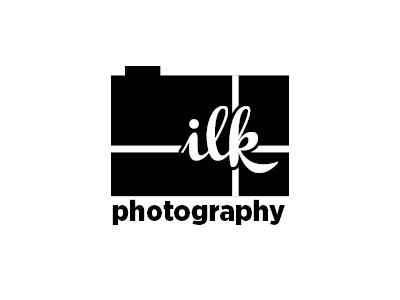 Ilk photography logo design