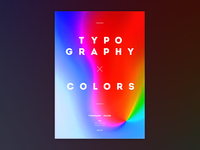 Typography x Colors (A3 size attached!)