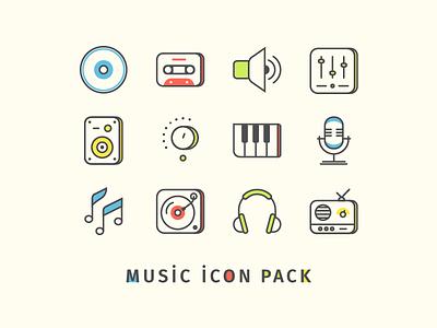 Music Icon Pack mixer volume cassette cd dj studio sound audio icon music music icon