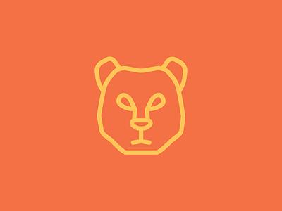 Bear series lions and bears brand graphic design design illustrator vector icons line art bear icon illustration