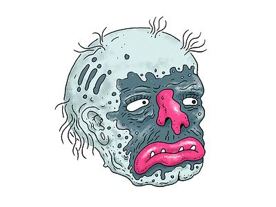 Make Up illustration monster makeup