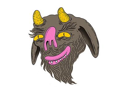 Devil illustration monster devil
