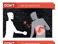 Handshake Comic