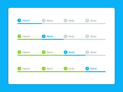 UI Element: Progress Bar steps process ui elements ui element uxdesign ux visibility progress progress bar uidesign ui  ux uiux ui design ui
