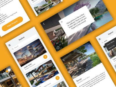 Architectural Showcase Mobile App mobile app design mobile design mobile ui ux design product design ux ui design ui mobile app mobile