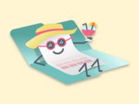 File Upload: Success Illustration