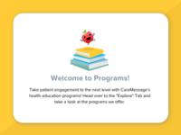 Empty State: Programs