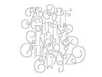 Swirl Alphabet