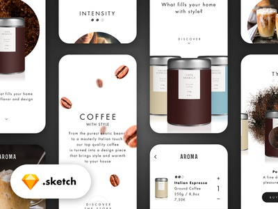 Coffee Purchase Experience #3 - Sketch file