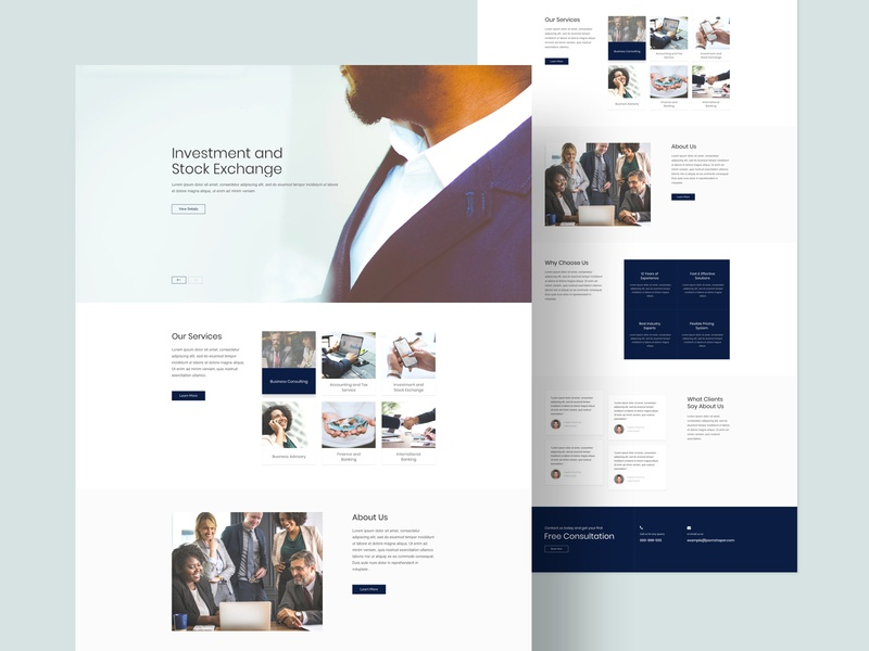 Corporate - Layout Bundle agency joomla layouts page builder websites corporate website business web minimal clean web design ux ui typography design