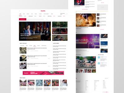 Gazette - Joomla News Template