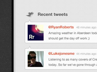 Tweetfeed design grey twitter texture pattern