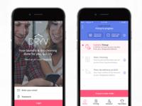 DRYV App design